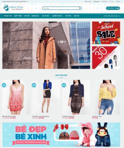 Fashion Shop - Theme WordPress Thời Trang Đẹp Sang Chảnh