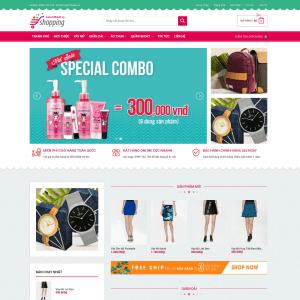 Shopping – Theme WordPress thời trang cho phái đẹp