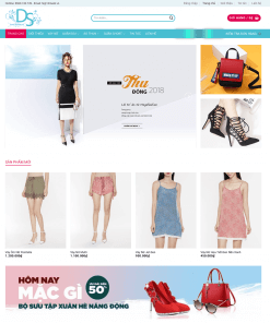 Theme WordPress Thời Trang