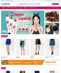 Theme WordPress kinh doanh sản phẩm thời trang