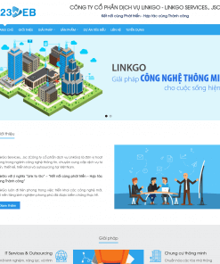 Theme WordPress giới thiệu doanh nghiệp