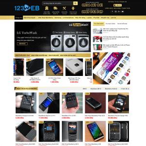 Mẫu Theme WordPress bán điện thoại