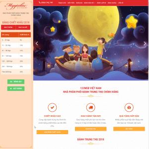 Theme Wordpress Bán Bánh Trung Thu