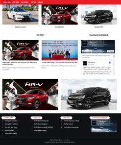 Theme WordPress Ô Tô, Đại lý Honda